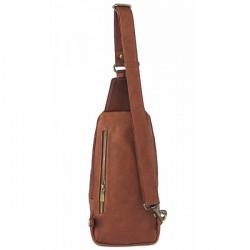 Pánska kožená taška cez rameno 990 čierna, Čierna #3