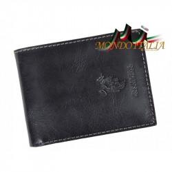 Pánska peňaženka HARVEY MILLER POLO CLUB 368 čierna