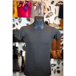 Pánske tričko 829 NAVIGARE, M, Čierna