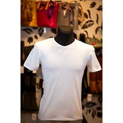 Pánske tričko 829A NAVIGARE, L, Biela