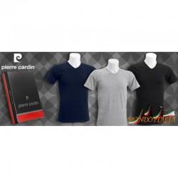 Pánske tričko PIERRE CARDIN 1059 strihané do V  1059