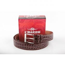 Pánsky opasok 17 hnedý Charro, Hnedá, 115/130 cm