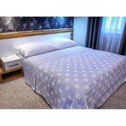 Prehoz na posteľ  701P Pois šedý Made in Italy Šedá 160 x 240 cm