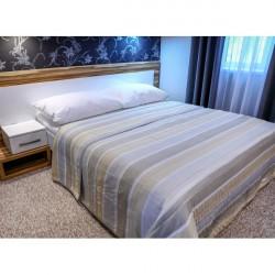 Prehoz na posteľ  701S Sunset béžový Made in Italy, Béžová, 220 x 240 cm