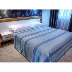Prehoz na posteľ  701S Sunset modrý Made in Italy, Modrá, 160 x 240 cm