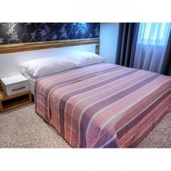 Prehoz na posteľ  701S Sunset ružový Made in Italy, Ružová, 160 x 240 cm