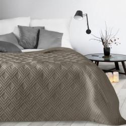Prehoz na posteľ Alara1 tmavobéžový Béžová 230 x 260 cm