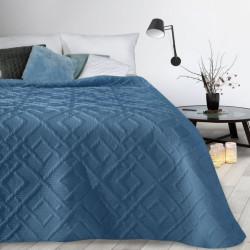Prehoz na posteľ Alara2 nebesky modrý Nebesky modrá 230 x 260 cm