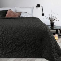 Prehoz na posteľ Alara4 čierny Čierna 230 x 260 cm
