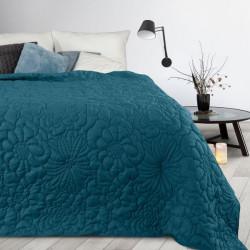 Prehoz na posteľ Alara4 nebesky modrý Nebesky modrá 230 x 260 cm