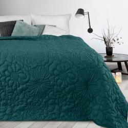 Prehoz na posteľ Alara4 smaragdovo zelený Petrolejová 230 x 260 cm