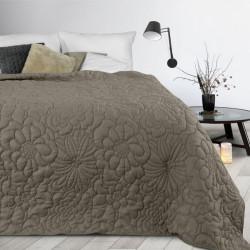 Prehoz na posteľ Alara4 tmavobéžový Béžová 230 x 260 cm