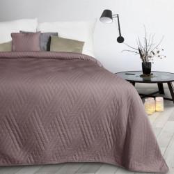 Prehoz na posteľ Boni1 pudrovo ružový Pudrová ružová 170 x 210 cm