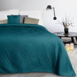 Prehoz na posteľ Boni1 smaragdovo zelený Petrolejová 170 x 210 cm