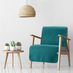 Prehoz na posteľ Boni2 smaragdovo zelený 220 x 240 cm Petrolejová