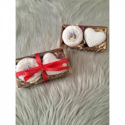 Prírodné mydlo a šperkovnica v darčekovom balení
