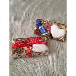 Prírodný bytový sprej a šperkovnica v darčekovom balení