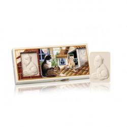 SA Fiorentino Mačky Prírodné tuhé mydlo 3 x 125 g