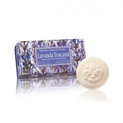 SA Fiorentino Prírodné rastlinné tuhé mydlo Toskánska levanduľa 6 x 50 g