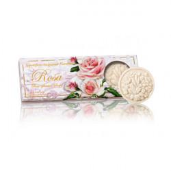 SA Fiorentino Ruža Prírodné mydlo 3 x 125 g
