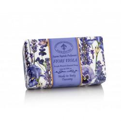 SA Firorentino Prírodné tuhé mydlo Fialové kvety 250 g