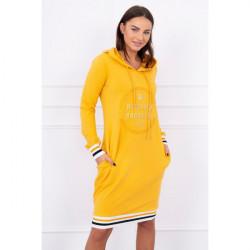 Šaty Brooklyn MI62095 okrové Univerzálna Okrová