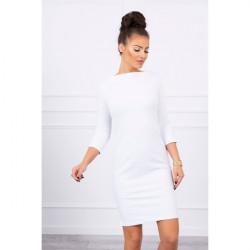 Šaty Classical MI8825 biele, Uni, Biela