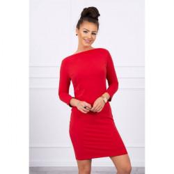 Šaty Classical MI8825 červené, Uni, Červená