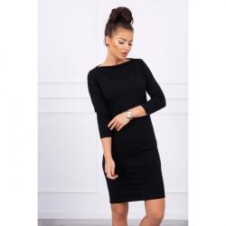 Šaty Classical MI8825 čierne, Uni, Čierna
