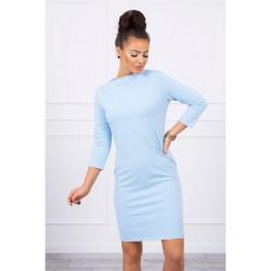 Šaty Classical MI8825 nebesky modré, Uni, Nebesky modrá