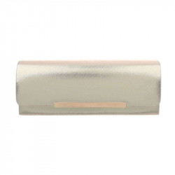 Spoločenská kabelka 399A zlatá, Farba zlatá Michelle Moon TA-ZL463-silver