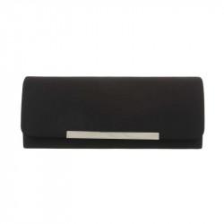 Spoločenská kabelka 399B čierna, čierna