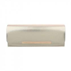 Spoločenská kabelka 399B zlatá, zlatá