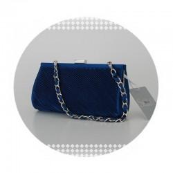 Spoločenská kabelka SOLO SOPRANI modrá Solo Soprani 131