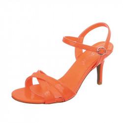 Spoločenské sandále 155 oranžové, 41, oranžová