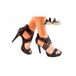 SPOLOČENSKÉ SANDÁLE čierne 329 Nedline Shoes 329