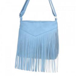 Strapcová kabelka na rameno 544 nebesky modrá, Nebesky modrá