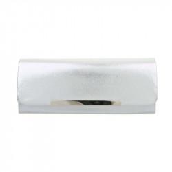 Strieborná spoločenská kabelka 399A Michelle Moon, Farba béžová Michelle Moon TA-ZL463-silver