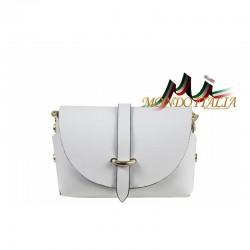 Talianska kožená kabelka 149 biela MADE IN ITALY 149