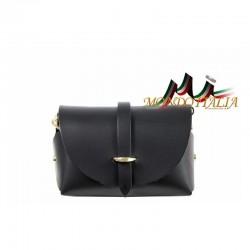 Talianska kožená kabelka 149 čierna MADE IN ITALY 149