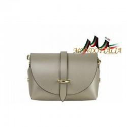 Talianska kožená kabelka 149 zlatá MADE IN ITALY 149