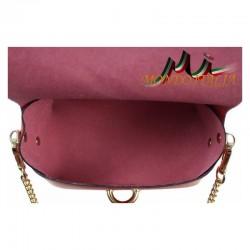 Talianska kožená kabelka 149 zlatá MADE IN ITALY 149 #2