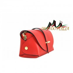 Talianska kožená kabelka 149 zlatá MADE IN ITALY 149 #3