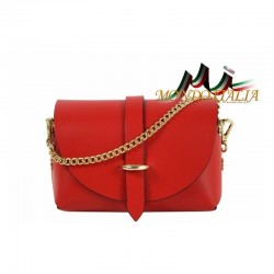 Talianska kožená kabelka 149 zlatá MADE IN ITALY 149 #4