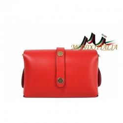 Talianska kožená kabelka 149 zlatá MADE IN ITALY 149 #5