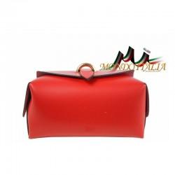 Talianska kožená kabelka 149 zlatá MADE IN ITALY 149 #6