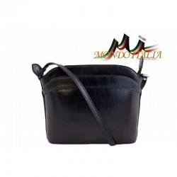 Talianska kožená kabelka 33 čierna MADE IN ITALY 33 a1ee7d4b806