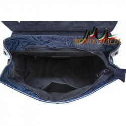 Talianska kožená kabelka 391 žltá MADE IN ITALY #1