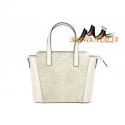 Talianska kožená kabelka 395 béžová MADE IN ITALY
