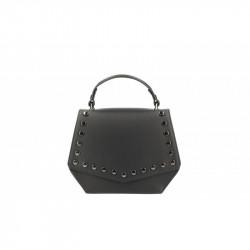 Talianska kožená kabelka 5101 čierna MADE IN ITALY, čierna